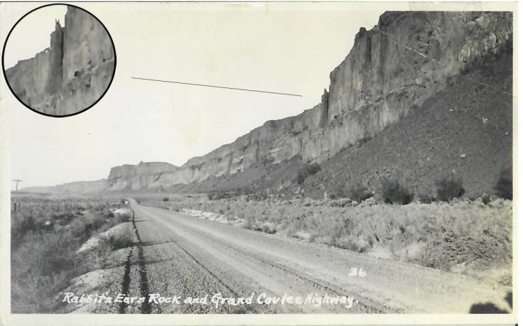 Rabbit Rock c1930s zoomed