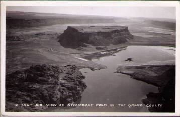 yma-Real-Photo-Postcard-Steamboat-Rock-in-the