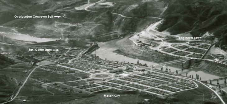 Mason city cofferdam