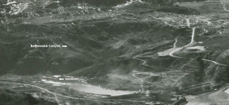 Rattlesnake Canyon and sandbars