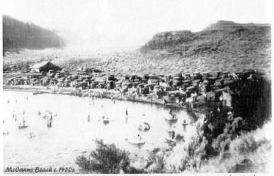 McCanns Beach c1930s