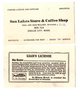 sun lakes card