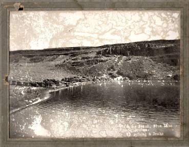 McCanns Beach picture from the Ranch House 1930s