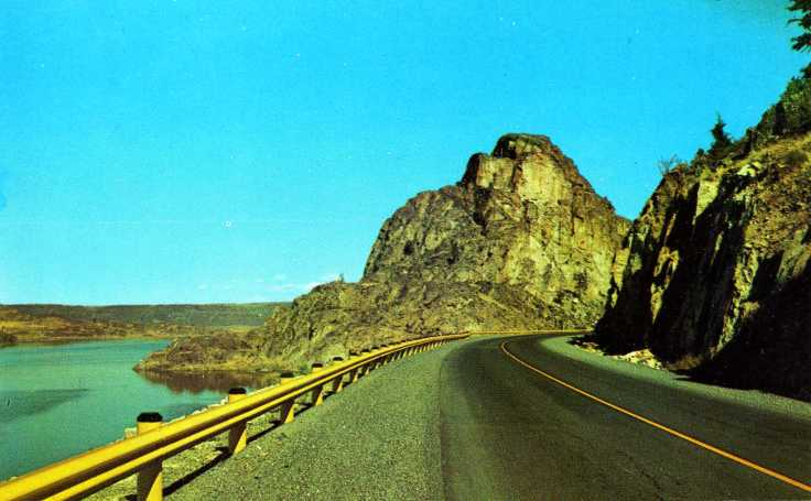 Pinnacle Rock and SR155