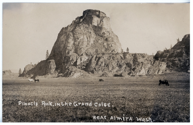 Pinnacle Rock near Almira